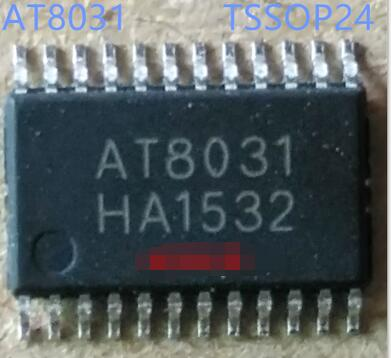 AT8031 single chip 2.1 channel full differential 2*10+20W class D amplifier  TSSOP24  10PCSAT8031 single chip 2.1 channel full differential 2*10+20W class D amplifier  TSSOP24  10PCS