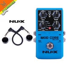 NUX MOD FORCE Multi Modulation Effects such as elay echo reveberation chorus flanger phase and so on free shipping недорого
