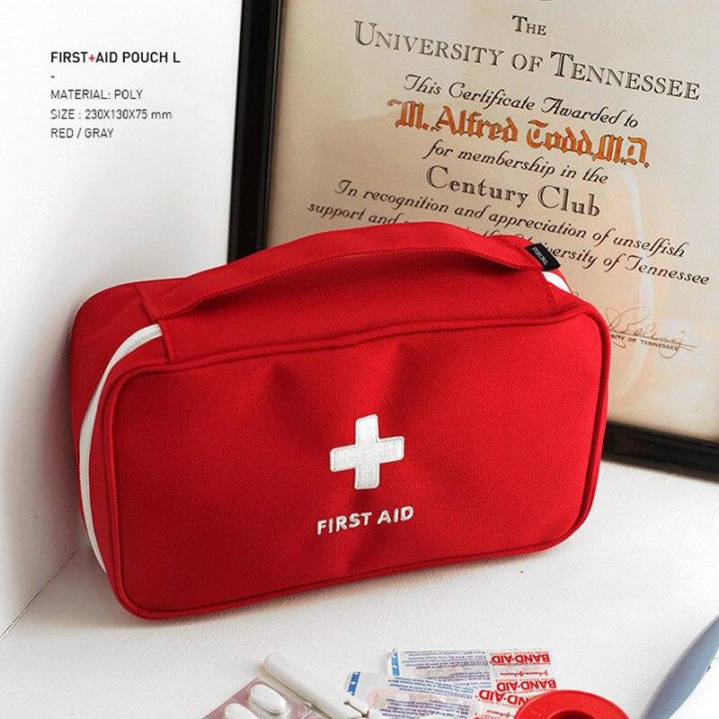 Travel First Aid Kit For Medicines Outdoor Camping Medical Bag Survival Handbag Emergency Kits Travel Set Portable(China)
