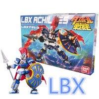 1 шт.. Bandai Danball Senki пластиковая модель 001 LBX Achilles масштабная модель оптовая продажа модель строительные наборы Бесплатная доставка lbx игрушки