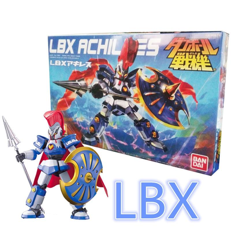 1 pcs Bandai Danball Senki Plastic Model 001 LBX Achilles Scale model wholesale Model Building Kits free shipping lbx toys