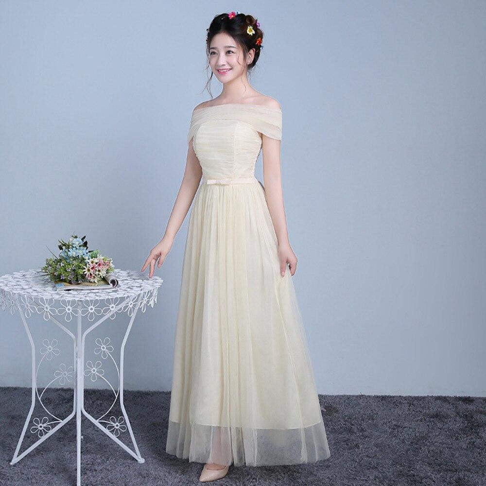 Frauen Hochzeit Brautjungfer Abendkleider Hochzeit Bridemaids Maxi ...