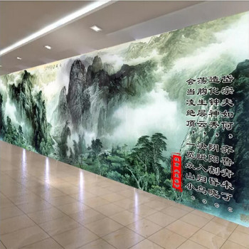 Lobby HD art landscape painting wall professional custom high-end mural factory wholesale wallpaper mural photo wall