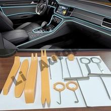 Professional 12pcs Set Plastic Car Radio Door Clip Panel Trim Dash Audio Removal Pry Tool Repairing Set Kit Tool