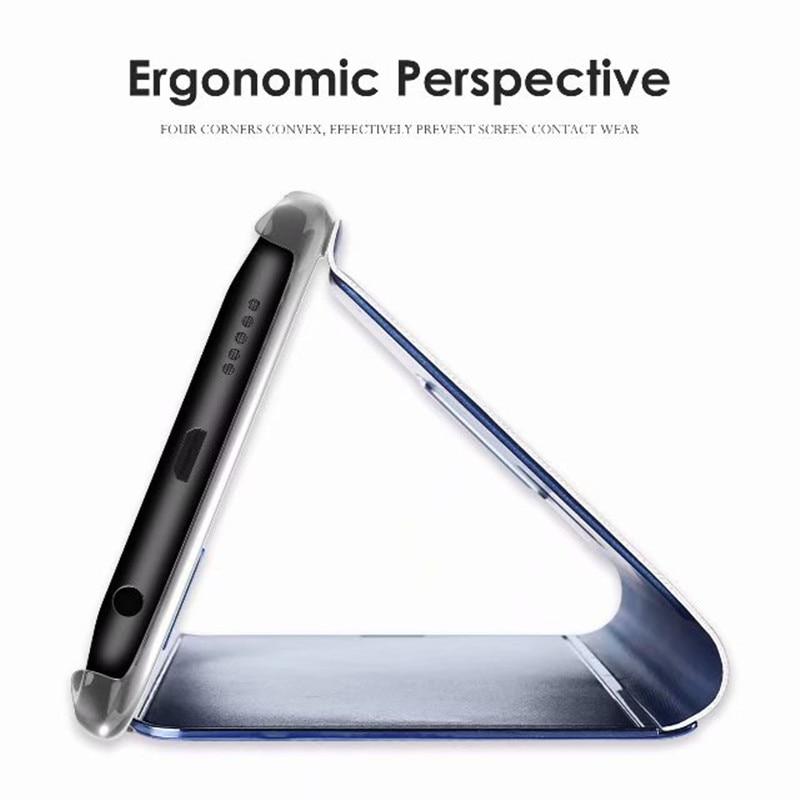 Высокое качество зеркало Clear View Cover для XiaoMi 5C 5X Xiaomi 6 Redmi 4X 5 плюс Smart Touch флип чехол для Redmi Note 3 4X 5A премьер