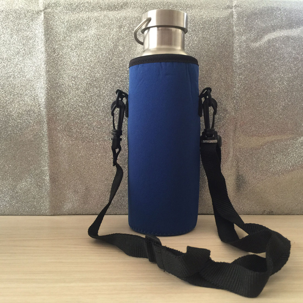 1000ML Water Bottle Carrier Insulated Cover Bag Holder Strap Pouch Outdoor New A