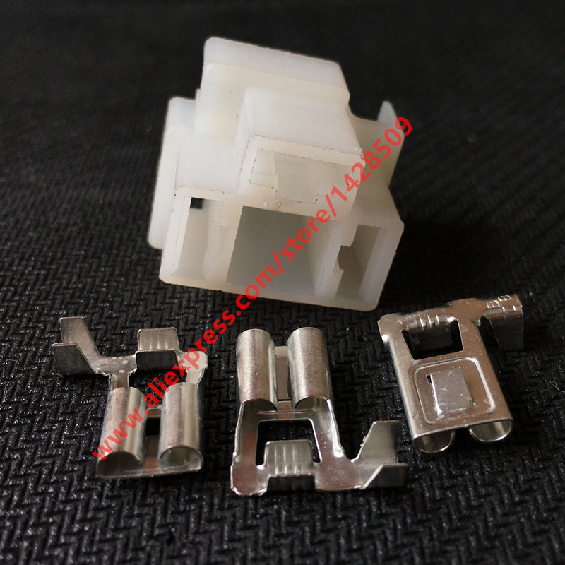 5 Sets Car Lamp Holder Electric 3 Pin Auto Connector