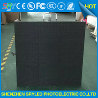 6mm LED Commercial Advertising Display Screen P6 DIE Casting Aluminium LED Cabinet Outdoor SMD Screen