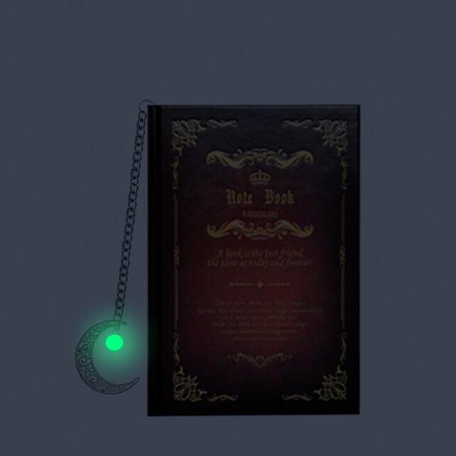 Винтажный блокнот Гарри поттер с закладкой в ассортименте 2