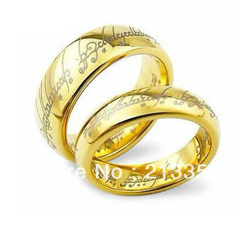 usa hot selling womenmens tungsten lord of rings wedding band - Lord Of The Rings Wedding Band