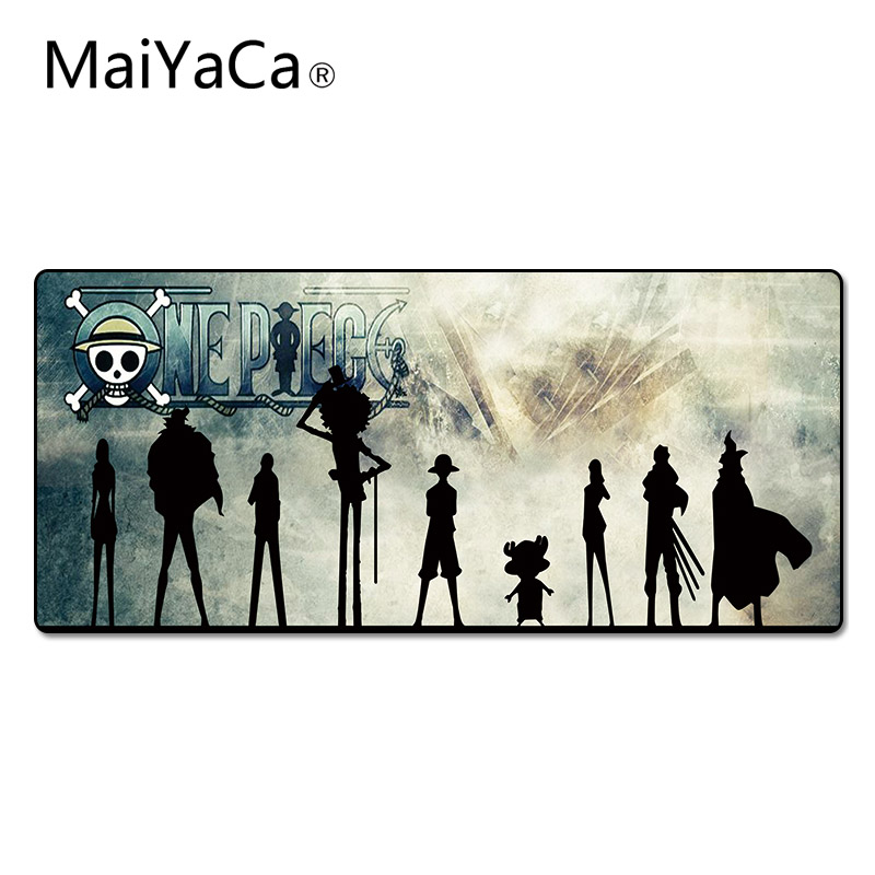 MaiYaCa One Piece Silhouette Pad to Mouse Notbook Computer Mousepad High-end Gaming Mouse Pad Gamer to Popular Laptop Mouse Mat