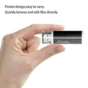 Image 2 - USB 2.0 Micro SD Card Reader per Micro SD Card Carta di TF Card Adapter Plug and Play per il Computer Portatile Del pc Desktop
