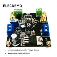 AD623 Module Instrumentation Amplifier Voltage Adjustable Single Supply Single-Ended/Differential Small Signal