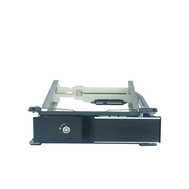 """3.5"""" Aluminum panel  SATA HDD Mobile Rack with Lockable"""