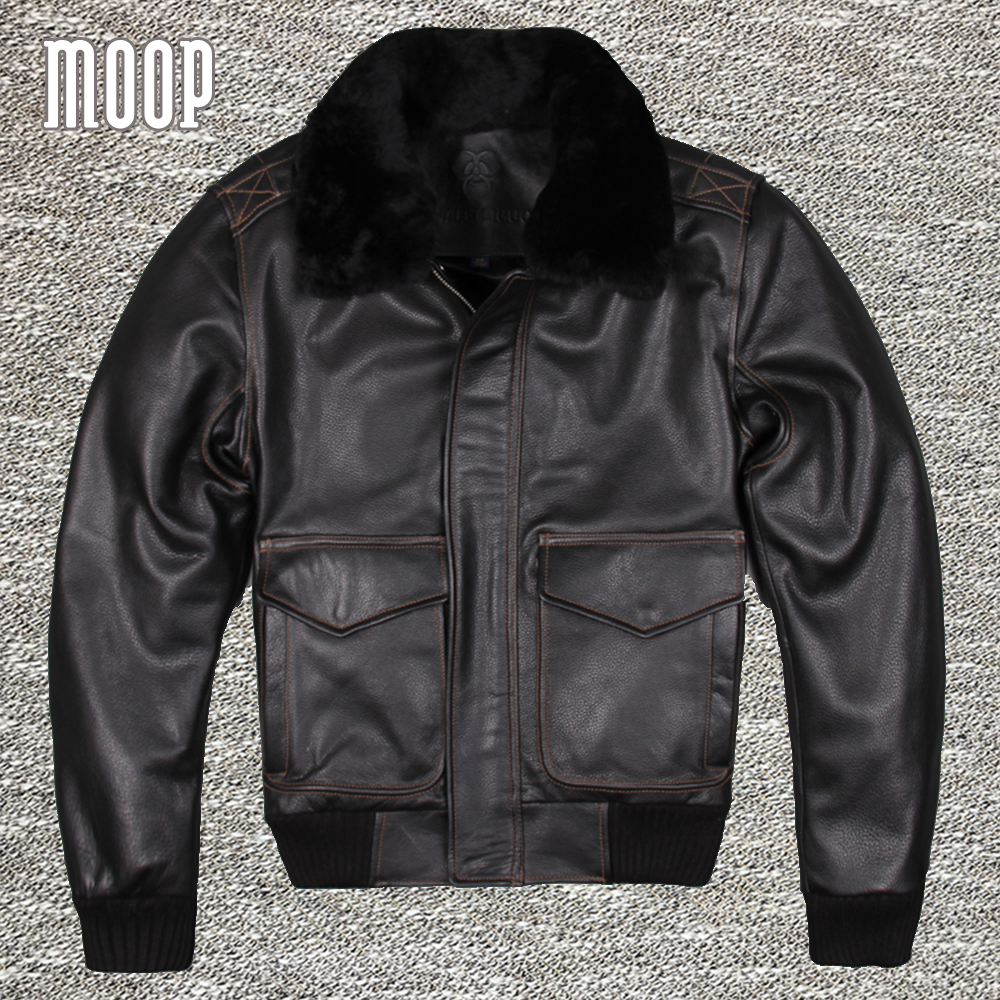 black genuine leather jacket 100 cowskin motorcycle. Black Bedroom Furniture Sets. Home Design Ideas
