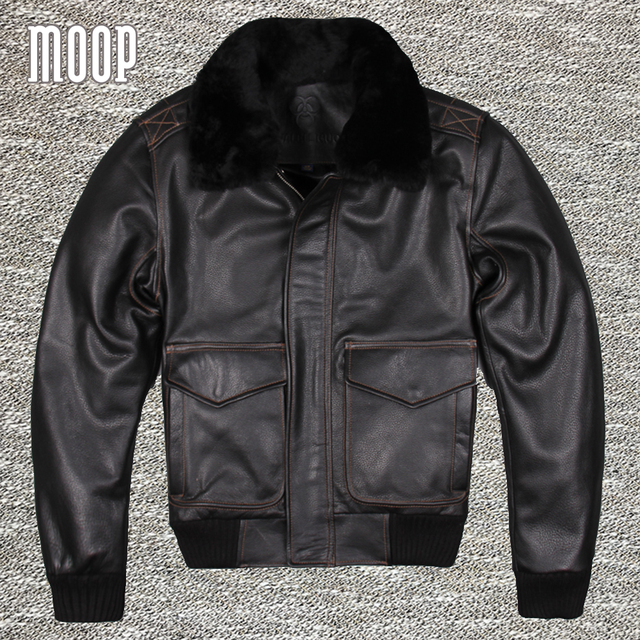 Black genuine leather jacket 100% cowskin motorcycle jacket thick parka chaqueta moto hombre veste cuir homme cappotto LT1069