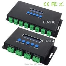 New arrival Artnet Eternet to SPI/DMX pixel led light controller Output Current 4 channels 7Ax4CH/16 channels 3Ax16CH DC5V-24V цена