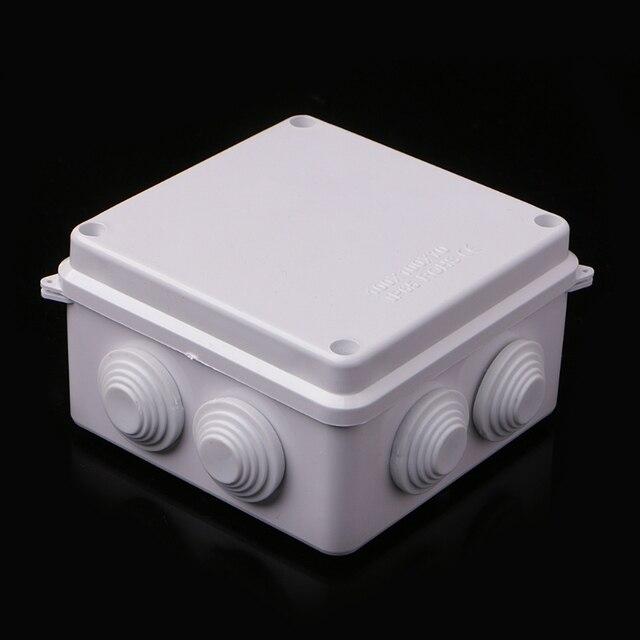 OOTDTY Wholesale ABS Plastic IP65 Waterproof Junction Box DIY ...