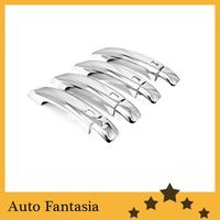 Car styling chrome handle cover for Audi A4 (B8) ( fit for Audi Q5, A5 2 Doors) free shipping
