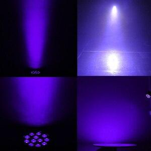 Image 5 - Luz led de palco com som automático dmx512, 36w, master slave, ultravioleta, preta, holofote para discoteca dj club