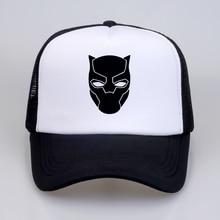 Superhero Black Panther Movie Baseball caps Fantastic Four Cosplay Men Women summer high quality Mesh Trucker Cap hat