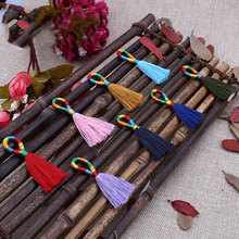 20pcs/lot 4cm clothing accessories key tassel Outer ring sewing trim decorative tassels for curtain home decoration