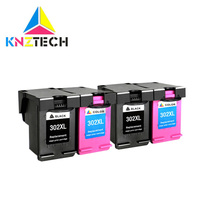 4x Compatible 302XL ink cartridge replacement for 302 XL for hp302 Deskjet 2130 2135 1110 3630 3632 Officejet 3830 3834 4650