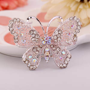 Fashion Openwork Hollow Women Butterfly Brooch Corsage Jewelry Cute Girl Pretty