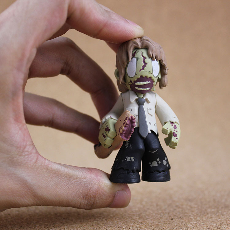 Original Funko Mystery Minis: The Walking Dead - Walker Zombie, Merle Dixon Vinyl Action Figure Collectible Model Toy No box