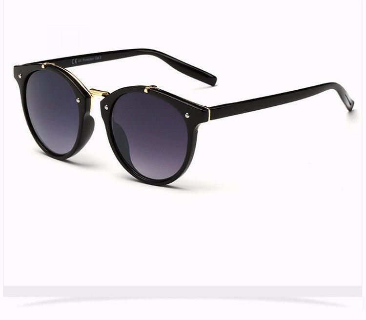 Fashion Vintage Round Sunglasses Women Men Brand Designer Retro Mirror Sunglass Ladies Female Male Sun Glasses For Women Glasses (18)