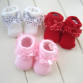 lace baby socks  0-6 months Princess socks newborns socks , summer cotton baby Spring and autumn