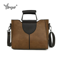 2018 YBYT Brand Vintage Casual Small Handbags Hotsale Women Shopping Purse Ladies Party Clutch Shoulder Messenger