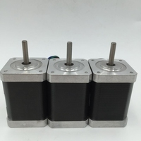 3PCS/Lot Micro Stepper Motor Nema17 0.4A Two Phases Motor 34mm for 3D printers 0.28NM/ 40oz.in