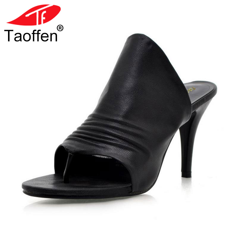 TAOFFEN Free shipping NEW high heel sandals fashion women dress sexy shoes pumps Hot sale EUR size 34-43 coolcept women high heel sandals platform fashion lady dress sexy slippers heels shoes footwear p3795 eur size 34 43