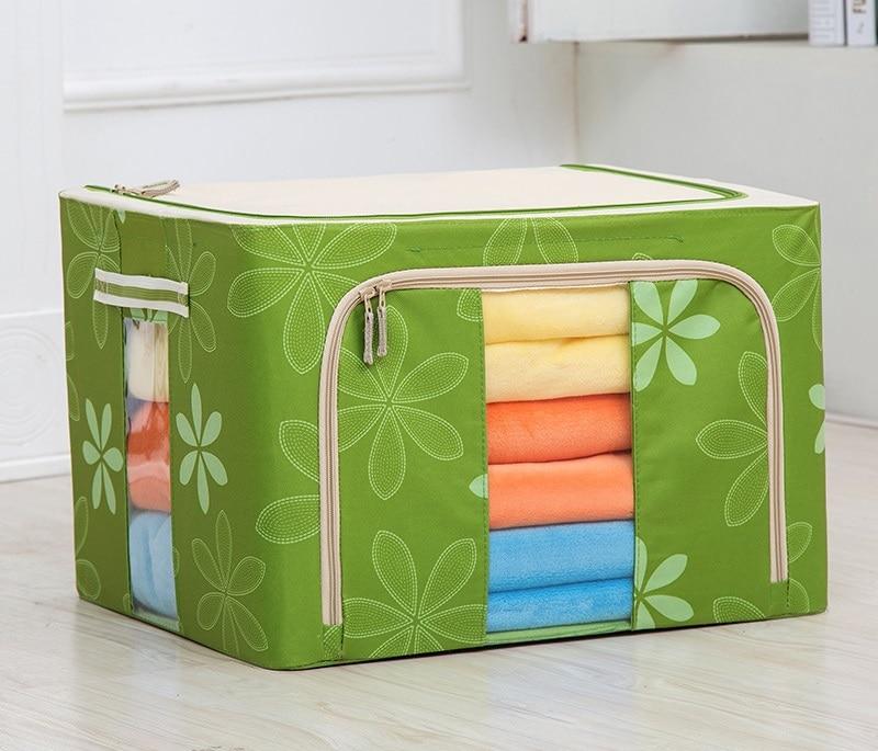 Canvas Storage Boxes For Wardrobes: Wholesale Canvas Box Various Sizes Clothing Bag Storage