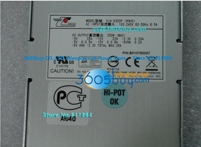 GIN-6350P 350 W fonte de Alimentação Modular Redundância Apoio Firewall do Servidor Hot Plug Power Supply