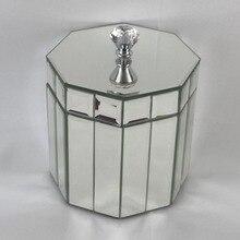 Стеклянные ювелирные изделия макияж косметический Органайзер для хранения подарочная коробка для хранения ювелирных изделий Свадебный держатель ювелирных изделий