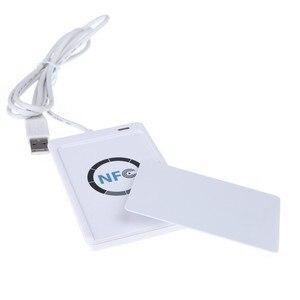 Image 5 - Carte intelligente RFID ACR122U/ACR 122U, lecteur de carte intelligente, avec UID imprimable, logiciel clone S50, carte de contrôle daccès, ISO 14443