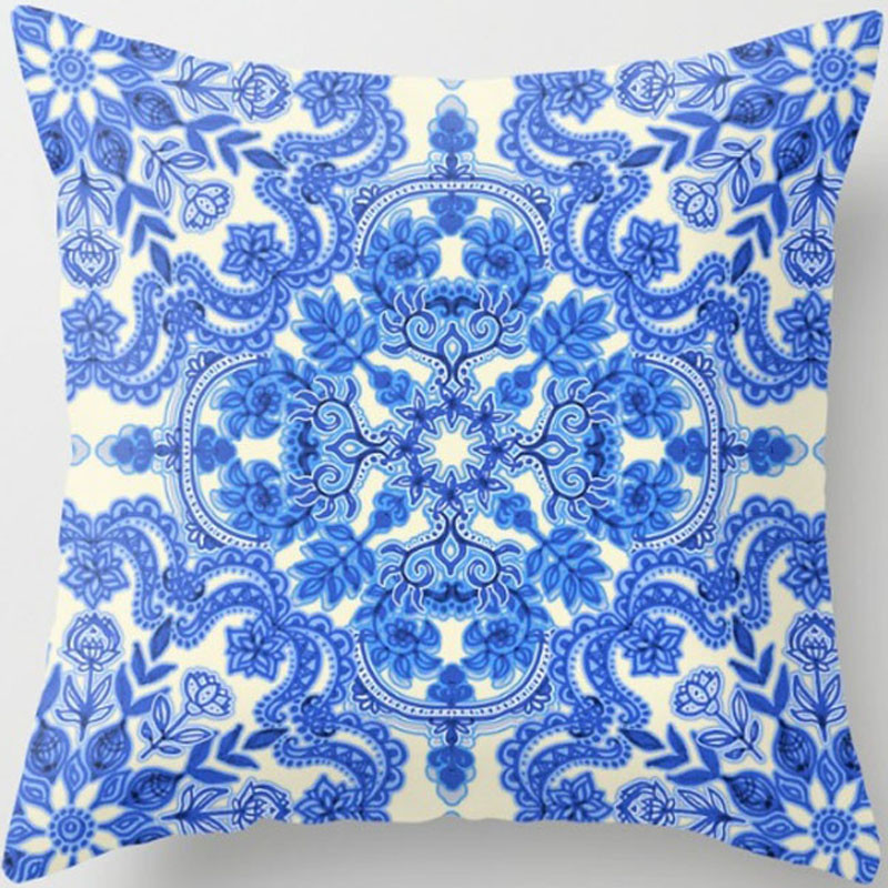XJBZT030F08cobalt-blue-china-white-folk-art-pattern-pillows