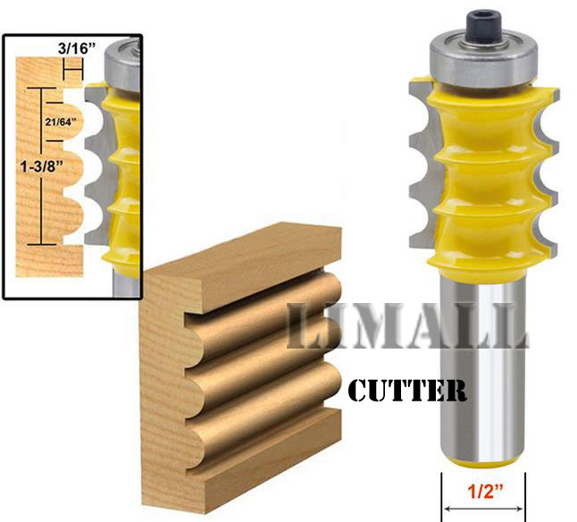 1/2 beaded knife handle three lines high-end cylindrical cutter knife woodworking tools chisel lines ontario knife rat 1