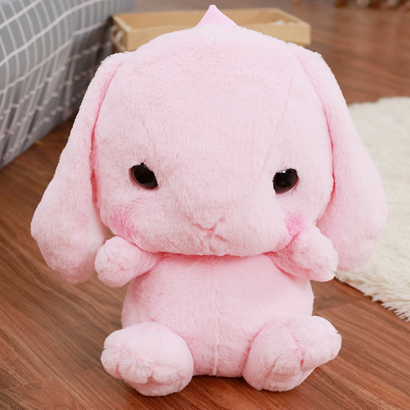 Cute Plush Rabbit Backpack Japanese Kawaii Bunny Backpack Stuffed  Rabbit Toy Children School Bag Gift Kids Toy For Little Girl