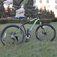 Mountainbike 26*1.95 MTB bisikletler için erkek/kadın komple bisiklet motokros bmx-bisiklet ön ve arka mekanik disk bmx bisiklet