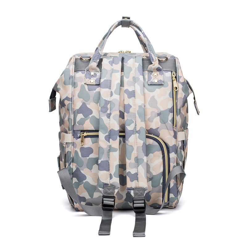 Camouflage Mommy Baby Nappy Bag Large Capacity Maternity Baby Travel Backpack Nursing Bag Baby Care Wet Bag Stroller Diaper Bags