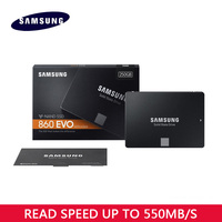 Samsung 860 EVO Internal Solid State Drive 250GB 500GB 1TB HDD Hard Disk HD SATA 3 2.5 inch SATA III SSD for Laptop Desktop PC