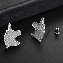 Mini Glittering Unicorn Earrings