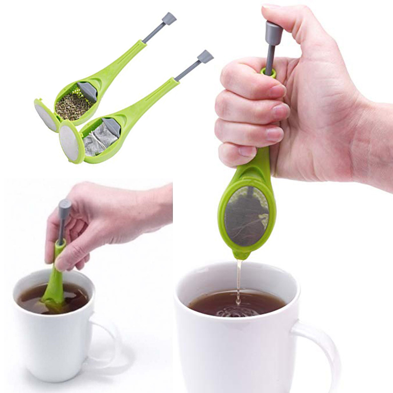 Купить со скидкой Tea Strainer Filter Flavor Total Tea Infuser Tools Swirl Steep Stir Press Healthy Herb Puer Tea&Coff