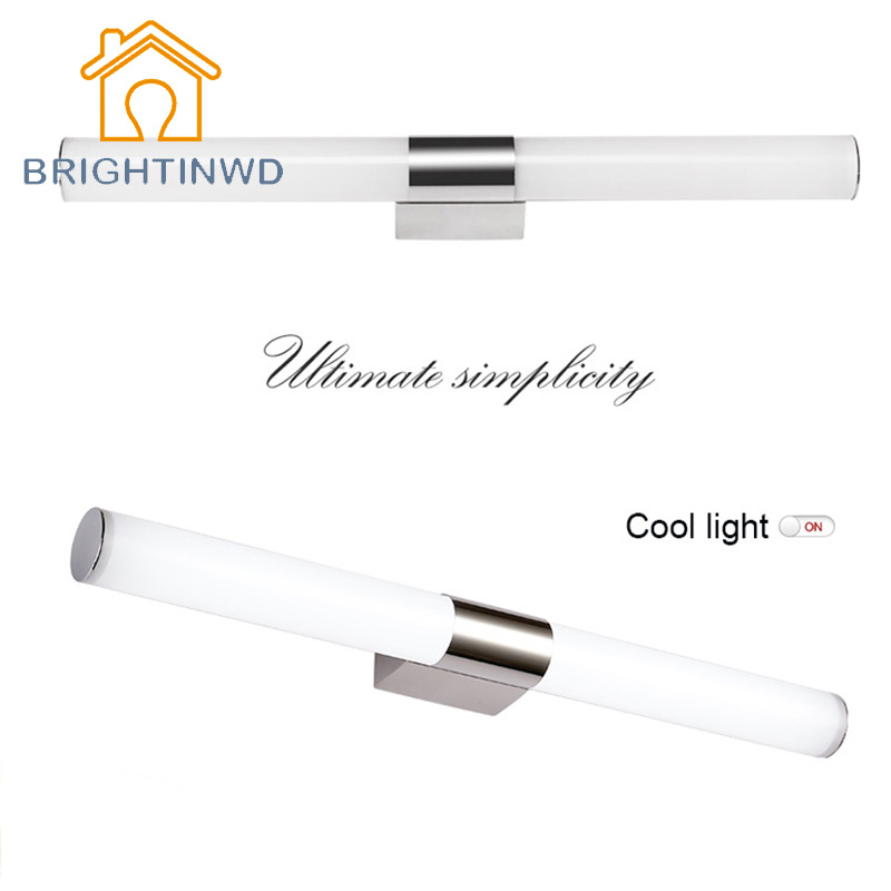 ФОТО AC85-265V 10W 46cm Lampada Led Light Makeup Mirror Bulbs Wall Lamp For Reading Decorative Wall Lighting Energy Saving