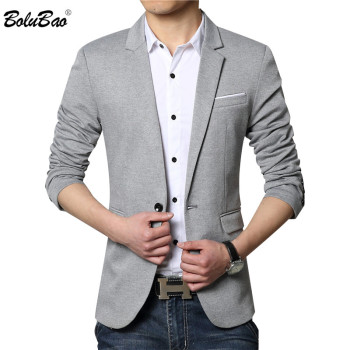New Men Blazer Fashion Brand New Quality Luxury Wool Blends Suit Blazer Masculino Male Suits Jacket M-6XL
