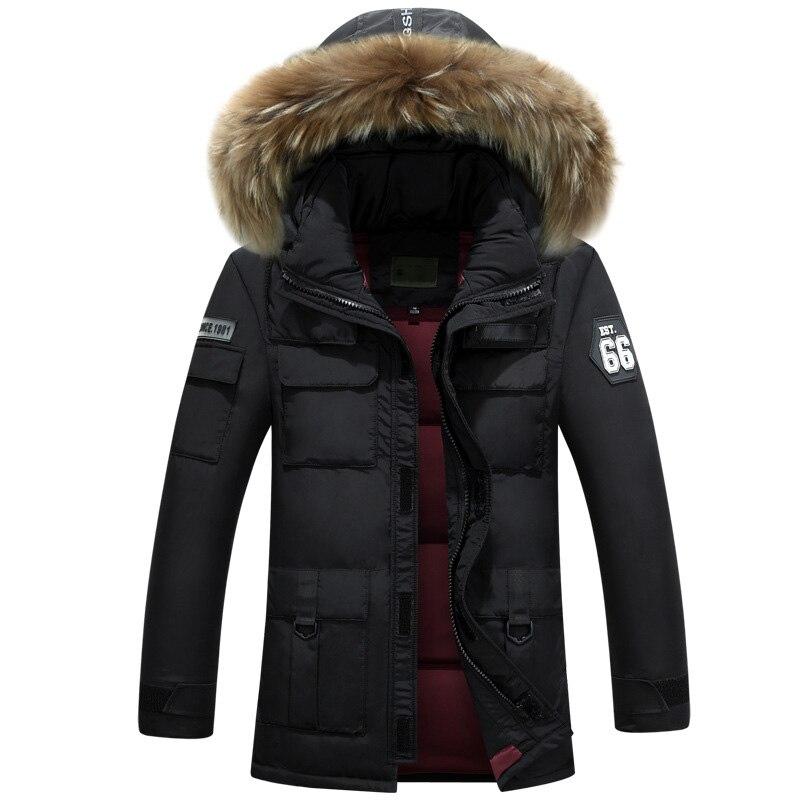 Hot 90% winter   down   jacket men thick warm   coat   mens   down   parka men's duck   down   jacket waterproof soft windproof outwear parkas