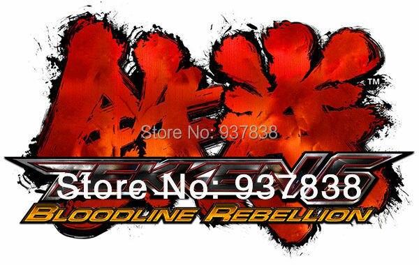 Rebelión linaje ps3 Video Juegos tekken 6 Máquina Arcade Juego de Lucha